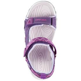 Viking Footwear Sandoey Sandały Dzieci różowy